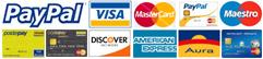 Elle Libri accetta PayPal e tutte le principali carte di credito